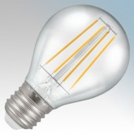 Crompton Lamps Clear LED Golfball Filament Lamps