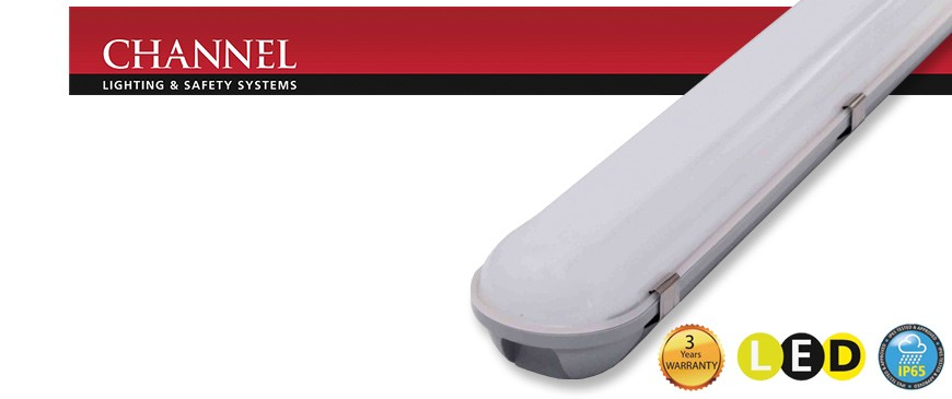 Channel Safety Arion IP65 LED Corrosion Proof Luminaires