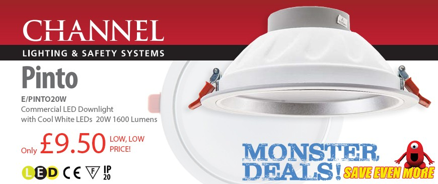 Pinto LED Commercial Downlight